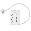 Travel Surge Protector 3 Outlet w/ 2 USB