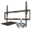 Large Tilt Mount Kit w/ Shelf 42-75″ up to 75lbs.